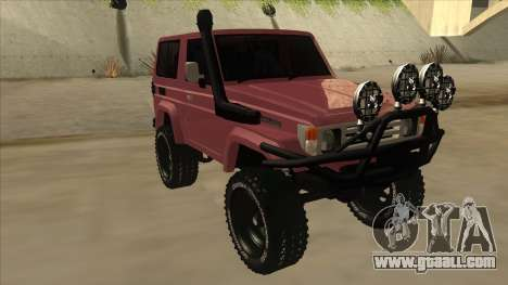 Toyota Machito Fj70 2009 V2 for GTA San Andreas