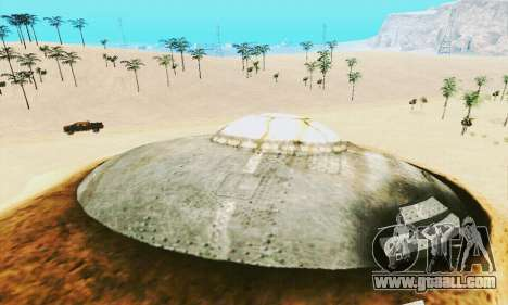 UFO Crash Site for GTA San Andreas fifth screenshot