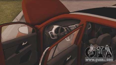 Kia Sportage for GTA San Andreas right view