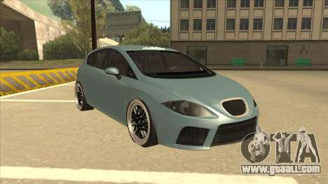 Seat Leon Clean Tuning for GTA San Andreas left view