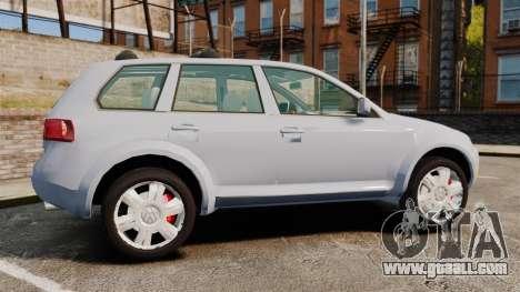 Volkswagen Touareg 2002 for GTA 4 left view