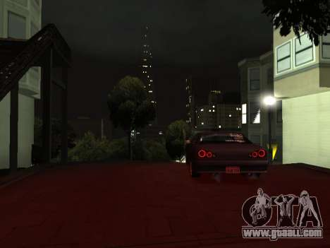 Elegy Skyline for GTA San Andreas right view