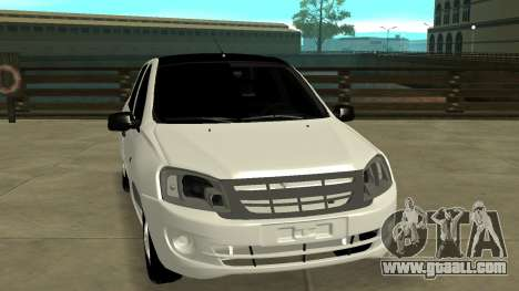 Lada Grant for GTA San Andreas back view
