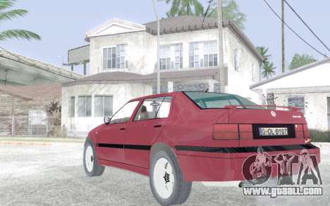Volkswagen Vento for GTA San Andreas back left view