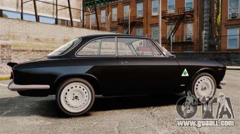 Alfa Romeo Giulia 1965 Sprint GTA Stradale for GTA 4 left view