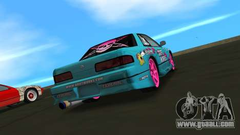 Nissan Silvia S13 Drift Works for GTA Vice City left view