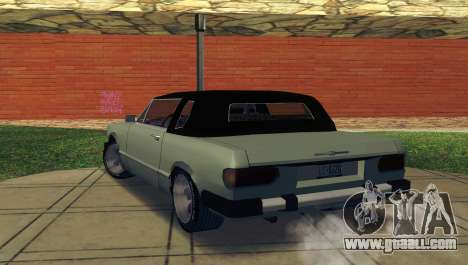 Feltzer C107 coupe for GTA San Andreas back left view