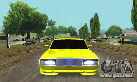 VAZ 2107 VIP for GTA San Andreas upper view
