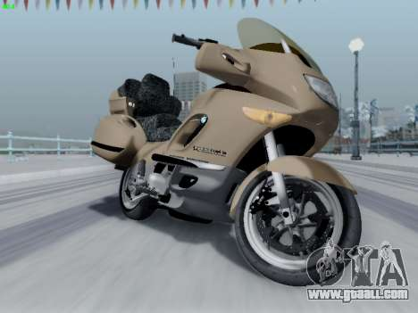 BMW K1200LT for GTA San Andreas right view