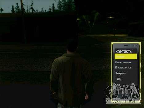 Interactive telephone for GTA San Andreas second screenshot