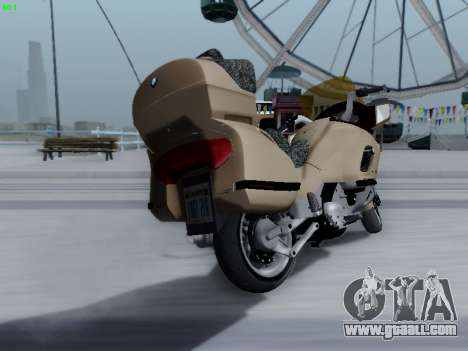 BMW K1200LT for GTA San Andreas back view