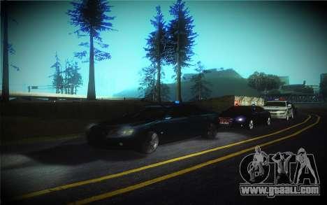 Audi A8L D3 for GTA San Andreas upper view