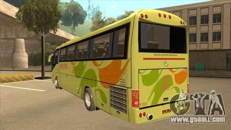 Higer KLQ6129QE - Super Five Transport S 023 for GTA San Andreas back view