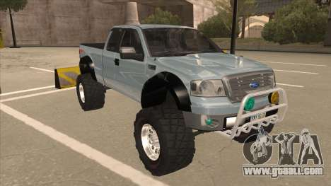Ford F-150 EXT Off Road 2007 for GTA San Andreas left view