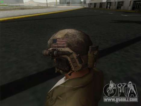 Helmet from Call of Duty MW3 for GTA San Andreas third screenshot