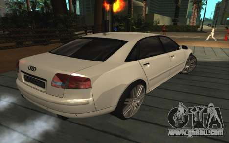 Audi A8L D3 for GTA San Andreas right view