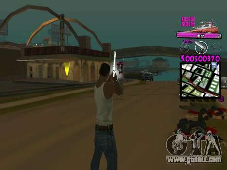C-HUD by Kerro Diaz [ Ballas ] for GTA San Andreas second screenshot
