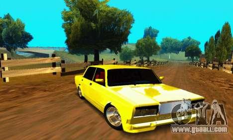 VAZ 2107 VIP for GTA San Andreas