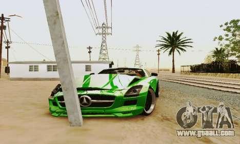 Mercedes SLS AMG 2010 Hamann v2.0 for GTA San Andreas side view
