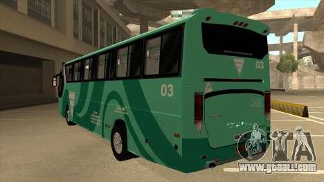 Holiday Bus 03 for GTA San Andreas back view