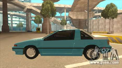Nissan EXA L.A. Version for GTA San Andreas side view