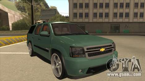 Chevrolet Tahoe Sound Car The Adiccion for GTA San Andreas left view