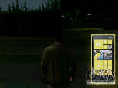Interactive telephone for GTA San Andreas