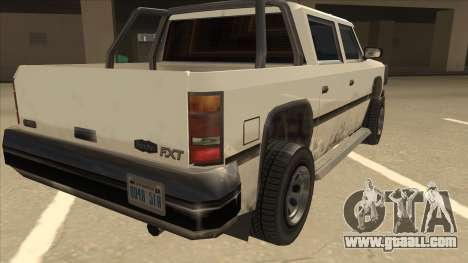 Declasse Rancher FXT for GTA San Andreas right view