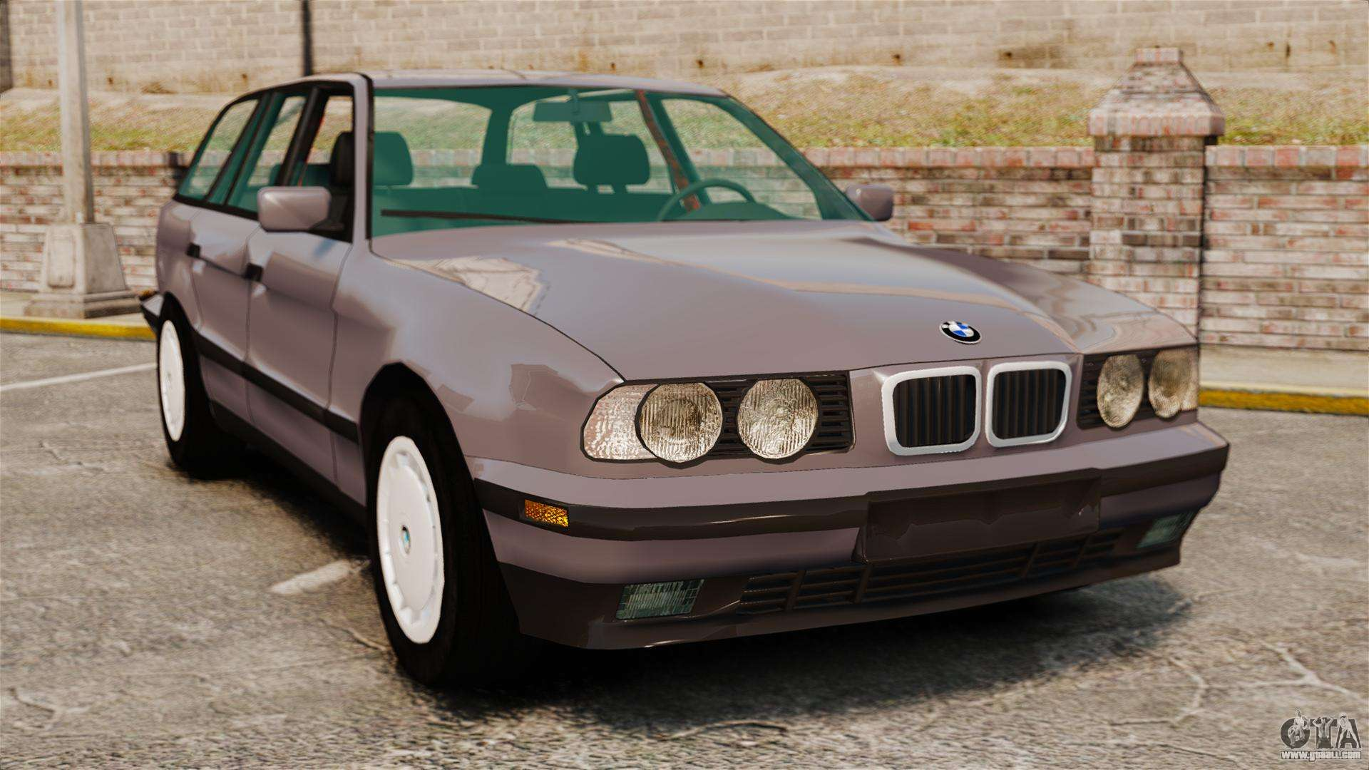 bmw 535 e34 touring for gta 4. Black Bedroom Furniture Sets. Home Design Ideas