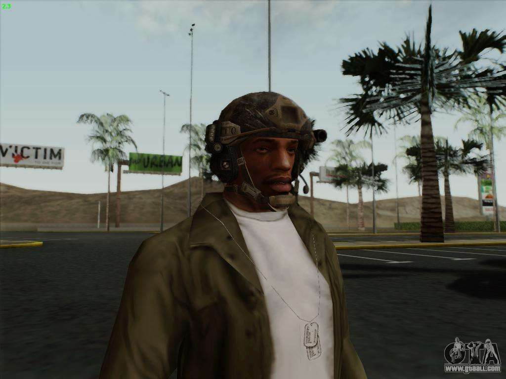 Helmet From Call Of Duty Mw3 For Gta San Andreas