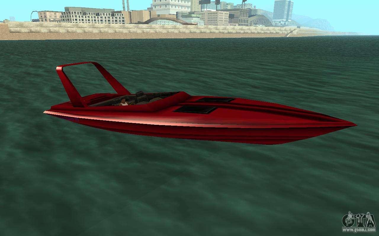 лодка для гта вайс сити