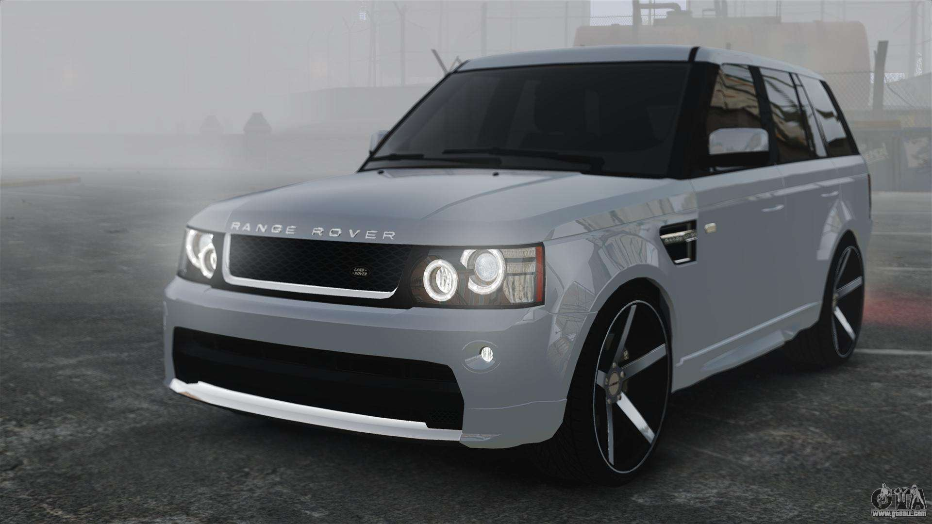 range rover sport autobiography 2013 vossen for gta 4. Black Bedroom Furniture Sets. Home Design Ideas