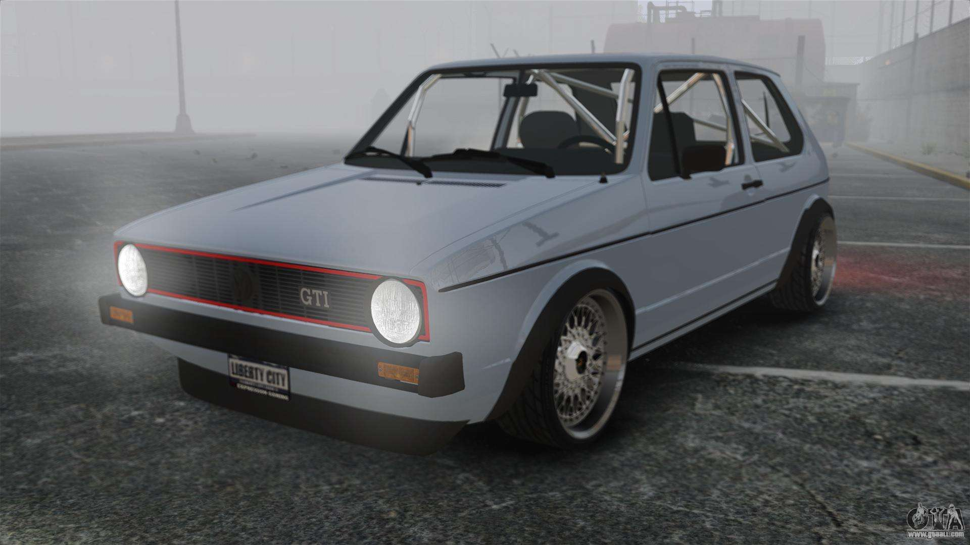 volkswagen golf mk1 gti update v1 for gta 4. Black Bedroom Furniture Sets. Home Design Ideas