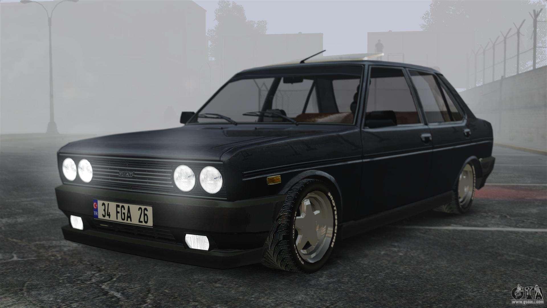 Fiat 131 For Gta 4