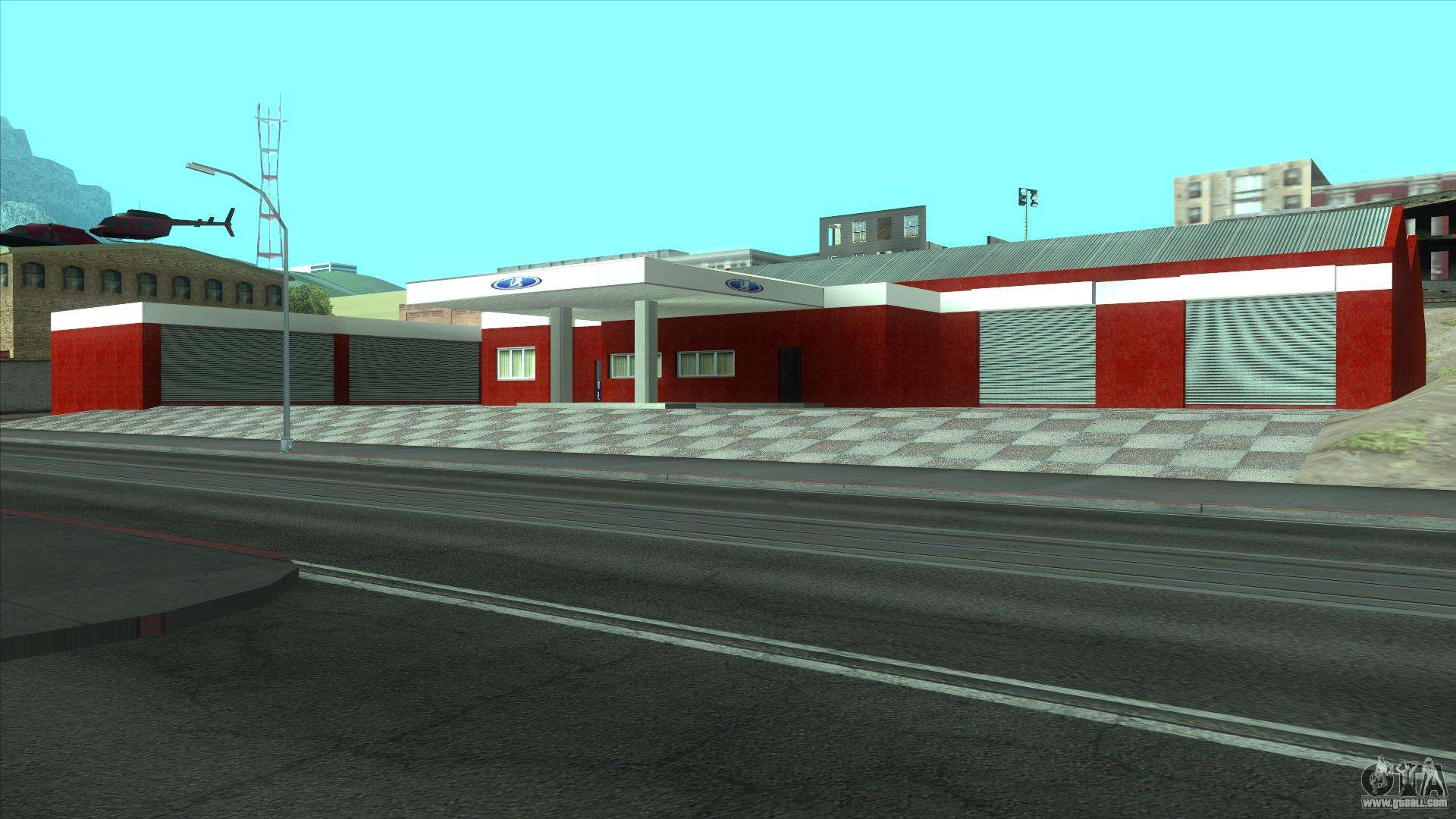 New garage in doherty for gta san andreas for New garage