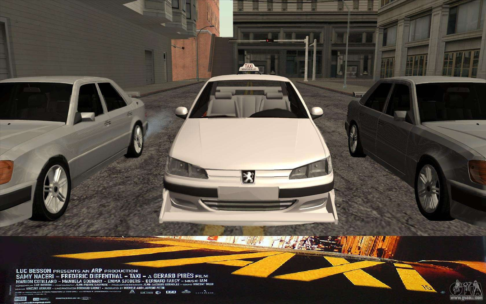 peugeot 406 taxi v2 for gta san andreas. Black Bedroom Furniture Sets. Home Design Ideas