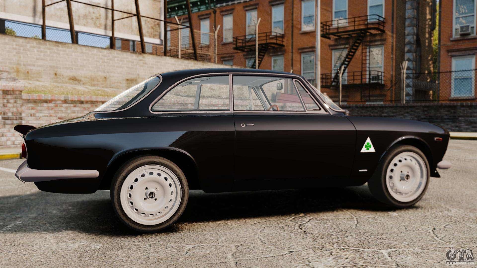 alfa romeo giulia 1965 sprint gta stradale for gta 4. Black Bedroom Furniture Sets. Home Design Ideas