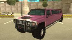 HUMMER H3 Limosine v.2.0 for GTA San Andreas