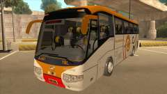 Higer KLQ6129QE - Yellow Bus Line A-001 for GTA San Andreas