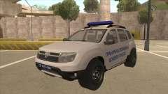 Dacia Duster Granična Policija Was