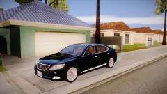 Lexus LS 600h L for GTA San Andreas