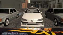 Peugeot 406 Taxi v2 for GTA San Andreas