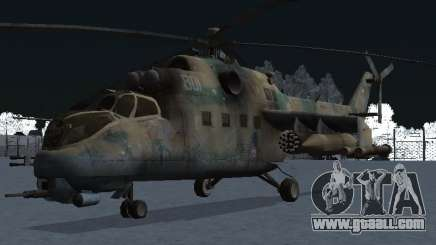 The MI-24 p for GTA San Andreas