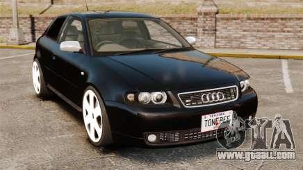 Audi S3 2001 for GTA 4