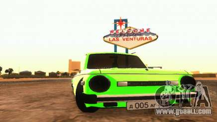 ZAZ 968 Cabriolet Tuning for GTA San Andreas