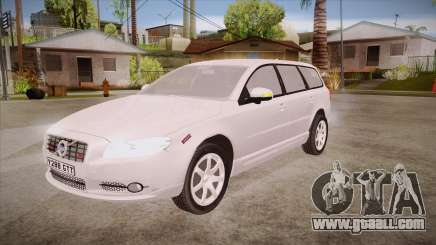 Volvo V70 Unmarked Police for GTA San Andreas