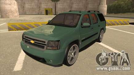 Chevrolet Tahoe Sound Car The Adiccion for GTA San Andreas