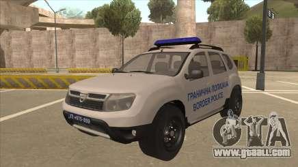 Dacia Duster Granična Policija Was for GTA San Andreas