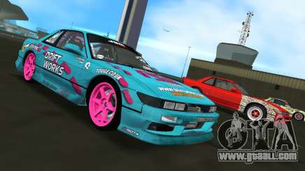 Nissan Silvia S13 Drift Works for GTA Vice City