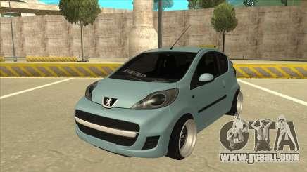 Peugeot 106 EuroLook for GTA San Andreas